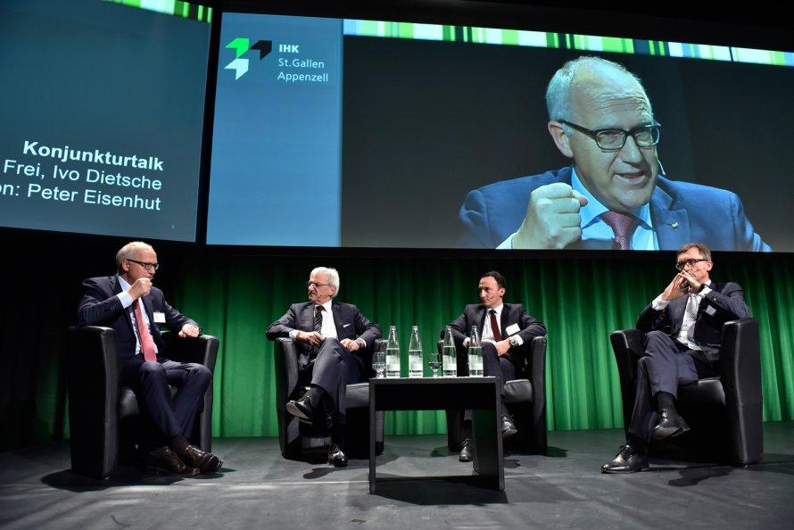 Rolf Frei, Peter Eisenhut, Ivo Dietsche, Roland Ledergerber